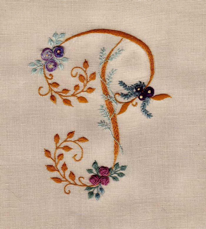 antique french embroidery initials pattern stencil digital download 10  inches by 8 inches