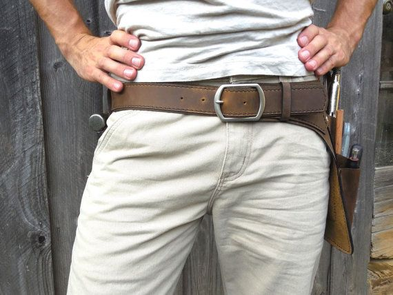 Basic Tool Belt Perfect for woodworkers finish by WheelerMunroe