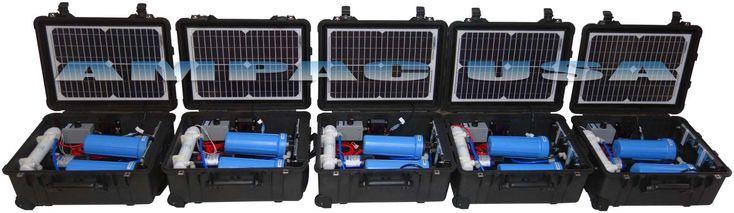 Solar Power Water Treatment