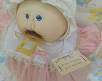 Image result for xavier roberts little people new ,years baby soft sculpture doll