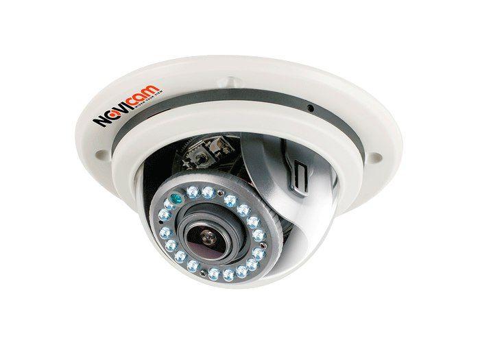 Видеокамера IP NOVIcam N27 1908-02 Купольная встраиваемая IP видеокамера NOVIcam N27 передает превосходное изображение Full HD с высоким разрешением 1080р 25/30 к/с и обеспечивает отличный обзор даже мельчайших деталей. Использование CMOS сенсора совместно с процессором HiSilicon, обеспечивает не только высокое разрешение, но и превращает камеру в мультифункциональное устройство. В темное время суток выходной сигнал видеокамеры преобразуется в реальный Ч/Б сигнал, а так же сдвигается ИК…