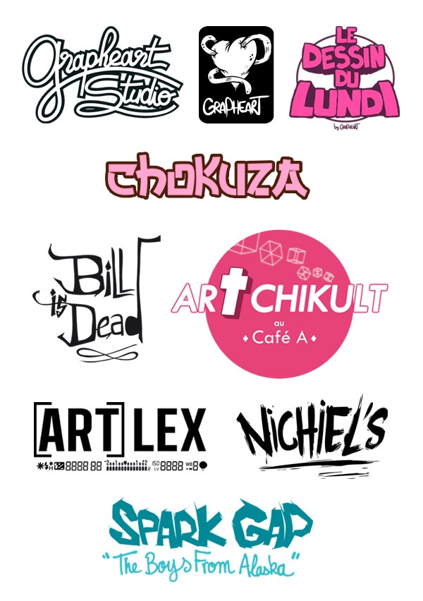 Logos by Grapheart Studio #branding, #logo# design #graphic , via Behance <<< repinned by www.BlickeDeeler.de