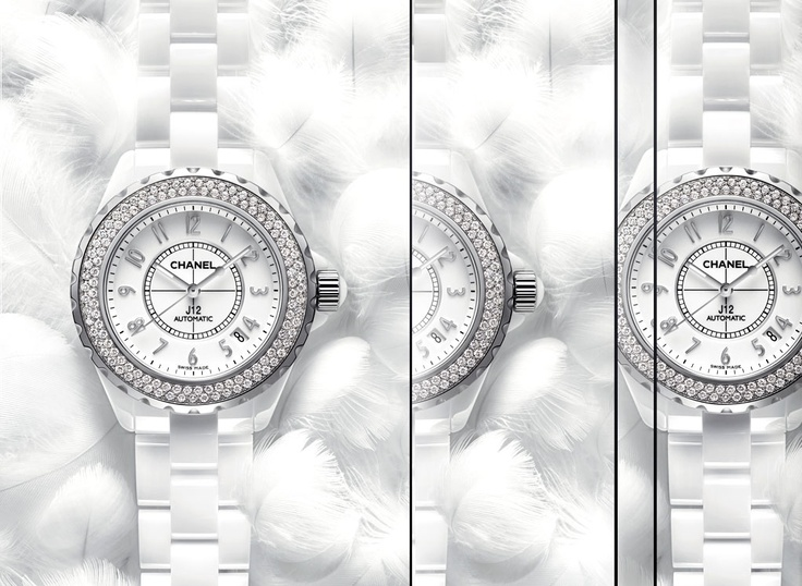 Chanel J12 White Watch - I have wanted this since I was like 10 years old!