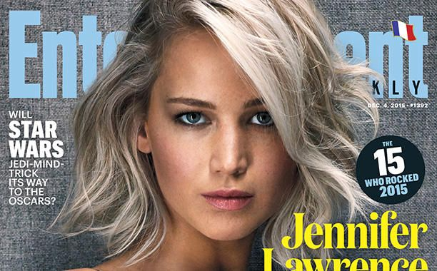 Jennifer Lawrence is  EW's Entertainer of the Year