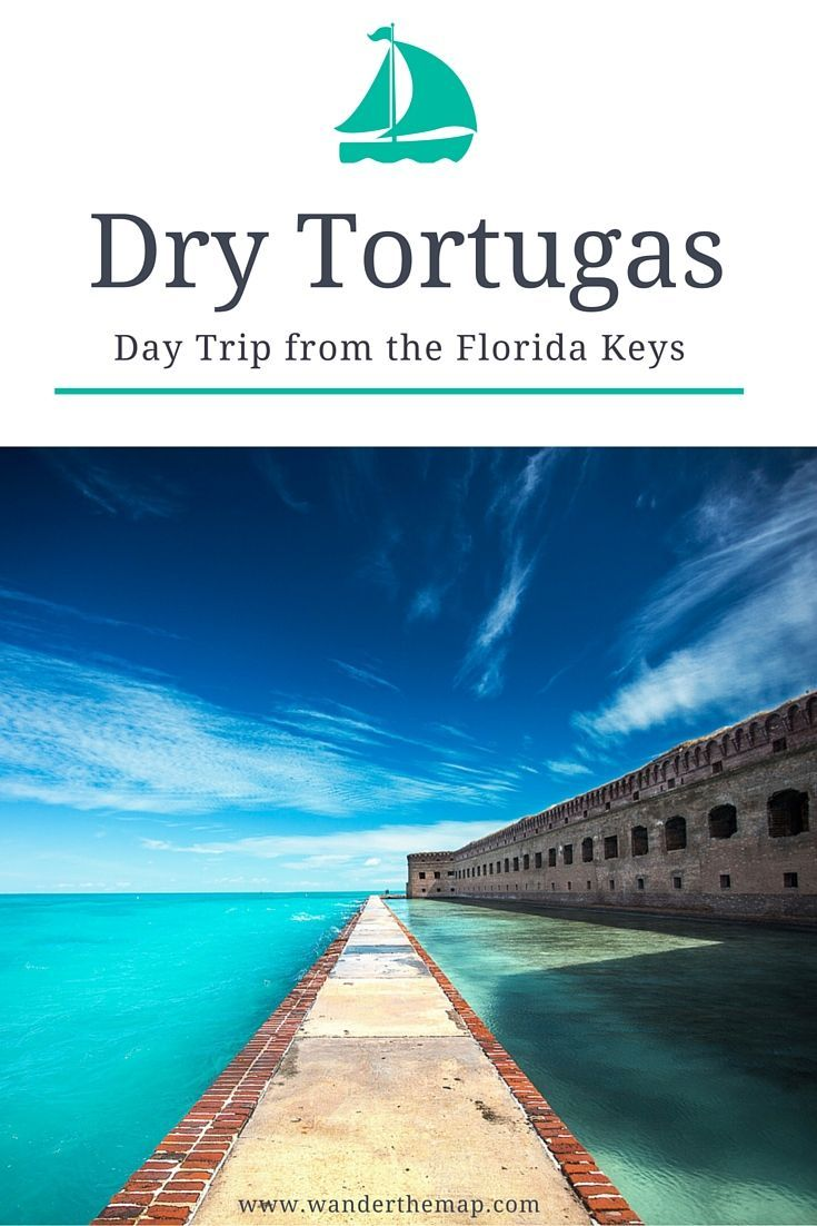 Day Trip to the Dry Tortugas National Park in the Florida Keys by Boat. This slice of beach heaven should be on every Florida travel lover's bucket list.