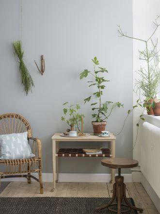 De grønne plantene har fått sin renessanse. Nå skal de være overalt. Tapet fra kolleksjonen Eco Simplicity fra Borge.