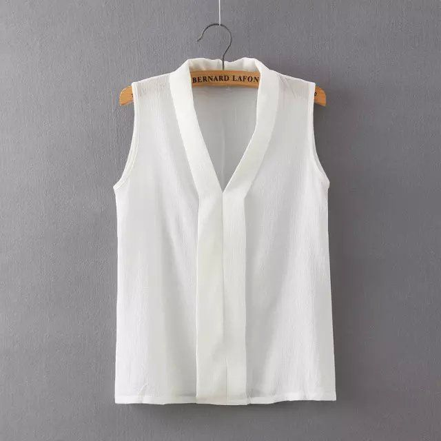 =>>Cheap2016 New Fashion Women's Colourful V Neck Summer Chiffon Blouses White Cute Sleeveless Shirts Casual Slim Brand Tops Blusas2016 New Fashion Women's Colourful V Neck Summer Chiffon Blouses White Cute Sleeveless Shirts Casual Slim Brand Tops BlusasAre you looking for...Cleck Hot Deals >>> http://id219375840.cloudns.pointto.us/32703988998.html images
