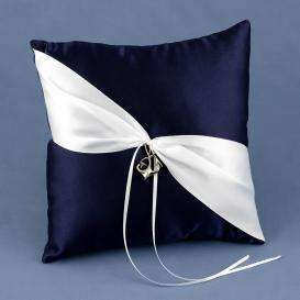 Anchors Away Ring Bearer Pillow - Photo