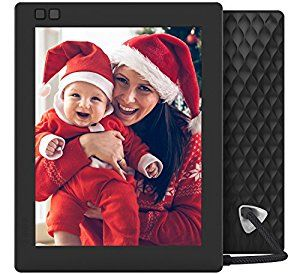 amazoncom nixplay seed 8 inch wifi digital photo frame black camera