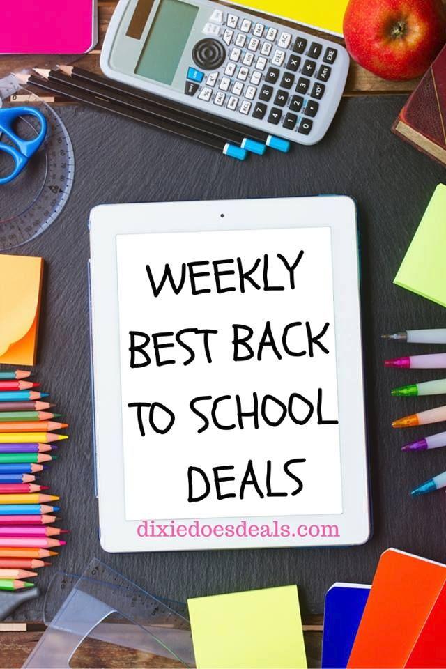 Back to School Deals | Weekly Back to School Deals | Back to School