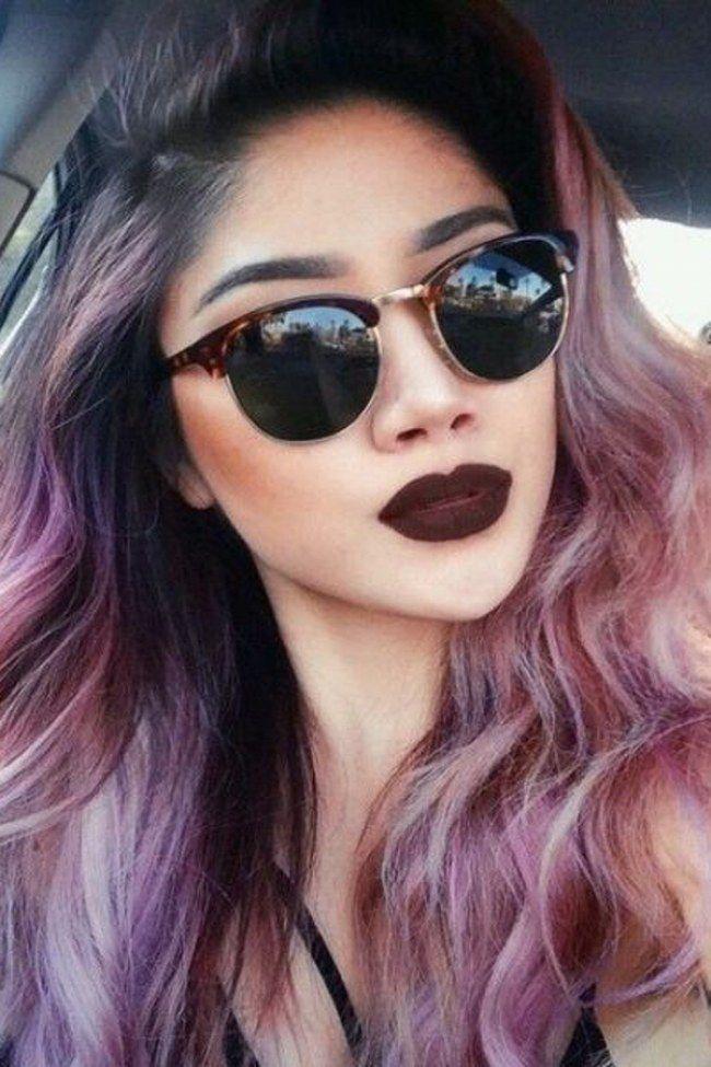 Haarfarbe Herbst Schn Von Galaxy Haarfarbe Trend Fuer Das Jahr