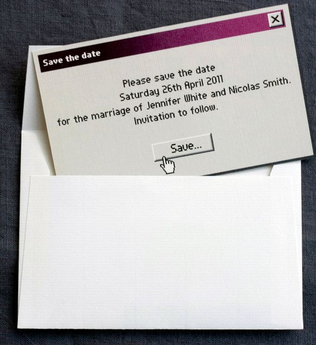 10 Wonderfully Geeky Wedding Invitations