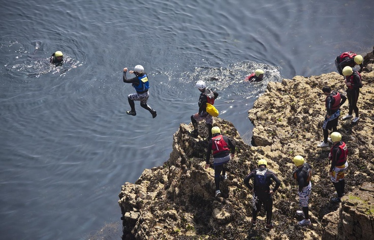 Coasteering with OutdoorGuernsey