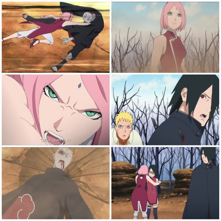 Boruto Episode 21 was lame - Sakura kicked Shin's ass, even Sasuke was shocked  And then we get to see Sakura's actual boobs and butt ❤️❤️❤️