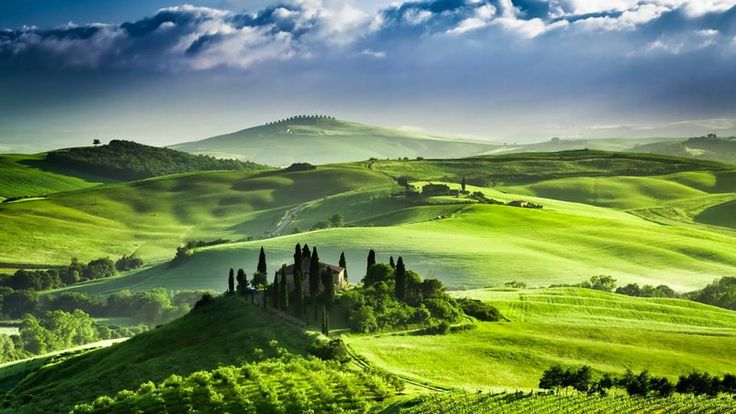 The #nature of Val d'Orcia countryside near #Siena in #Tuscany