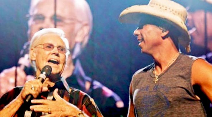 Country Music Lyrics - Quotes - Songs Modern country - George Jones Surprises Kenny Chesney On Stage With 'He Stopped Loving Her Today' - Youtube Music Videos http://countryrebel.com/blogs/videos/19150547-george-jones-surprises-kenny-chesney-on-stage-with-he-stopped-loving-her-today-watch
