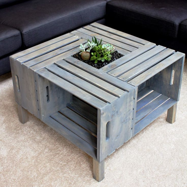 Homemade Coffee Table With Good Ambience