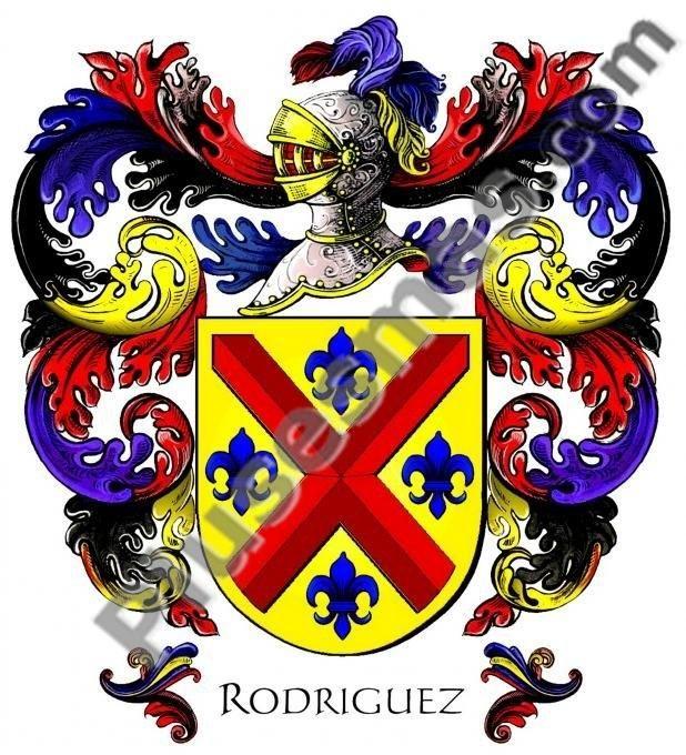 Escudo del apellido Rodríguez