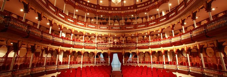 """I was in Teatro Colon in a concert of """"Sonando Canciones"""" It was a children group with cool  music and dance.- Bogota, Colombia"""