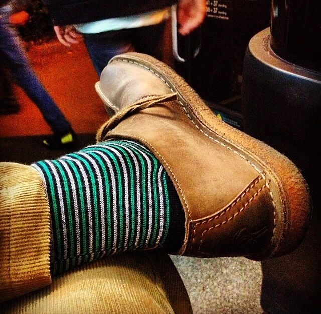 Sock it to 'em! How do you wear your Smedley Socks? #JohnSmedley #ShareYourStyle