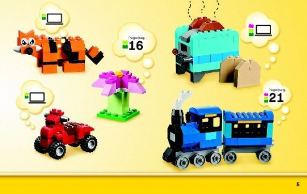 Bauanleitungen LEGO - Classic - 10696 - LEGO® Mittelgroße