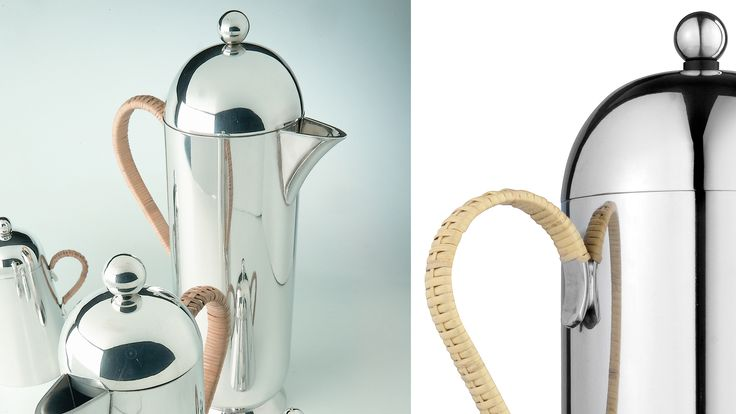 Large French Press with Wicker Handle | AHAlife
