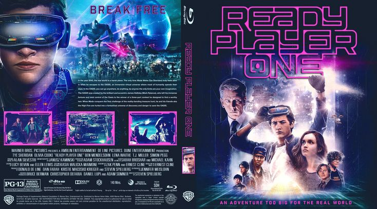 COVERS.BOX.SK ::: Ready Player One - Blu-Ray (2018) - high