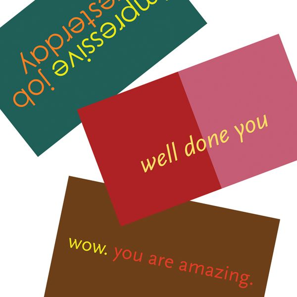 Coworker Compliments Cards by Design Orange www.design ...