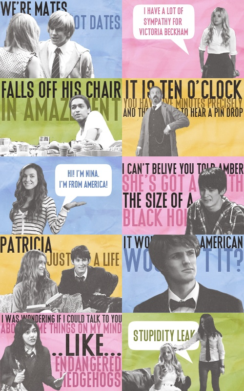 House of Anubis 20 Day Challenge--Day 16, Nine Quotes…A collection of Season One quotes. :) Some of my faves!!
