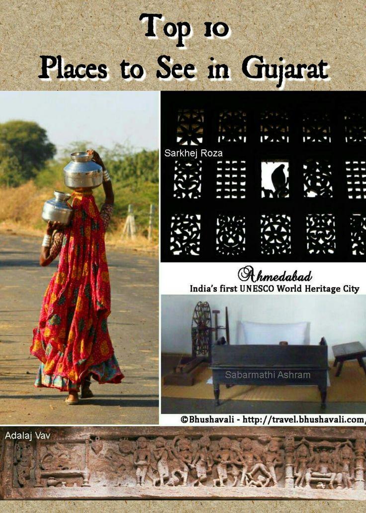 Here's the Top 10 places to see in Gujarat... #travelblog #photoblog #travelblogger #ttop #VisitGujarat #Ahmedabad #UNESCO #UNESCOWorldHeritageSite #IncredibleIndia