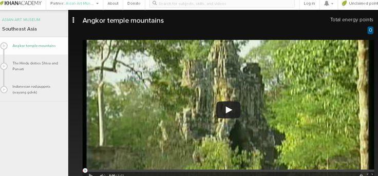 Angkor temple mountains