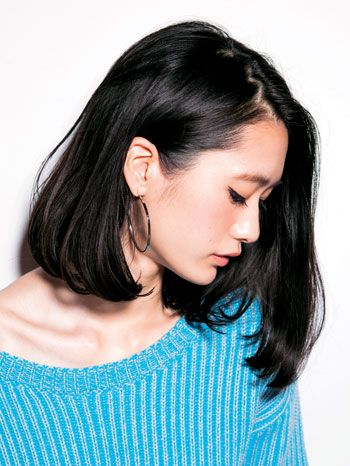 TO黒髪さん。秋コーデにぴったりのヘアスタイルとヘアアクセサリー|MERY [メリー]