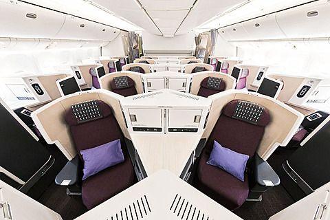 写真で見る JAL SKY SUITE 777(SS2) 新ビジネスクラスシート「JAL SKY SUITE III」を搭載したボーイング 777-200ER型機 - トラベル Watch