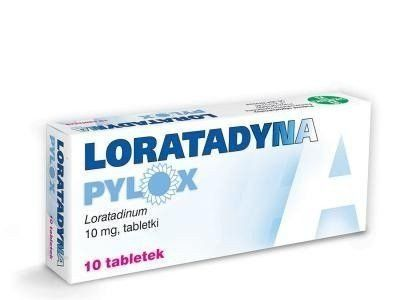 Pylox Loratadine 10mg x 10 tablets, skin rash, LORATADYNA, allergy, Allergic Rhinitis, hives treatment