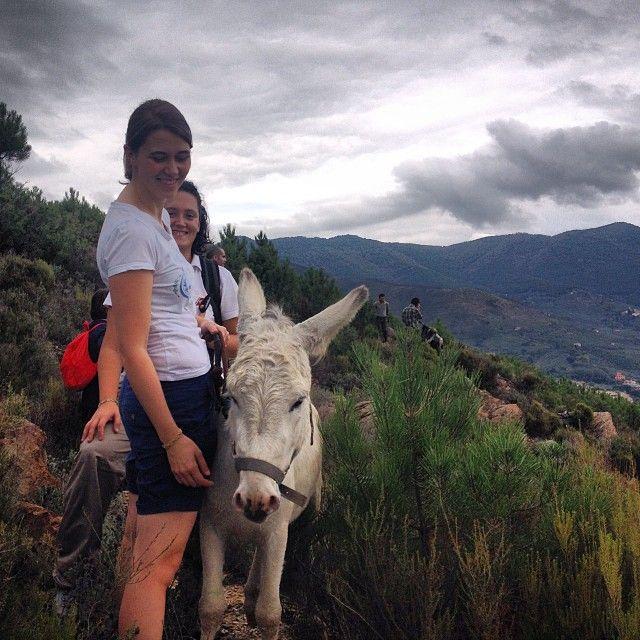 escursione someggiata sui sentieri di Calci - Pisa