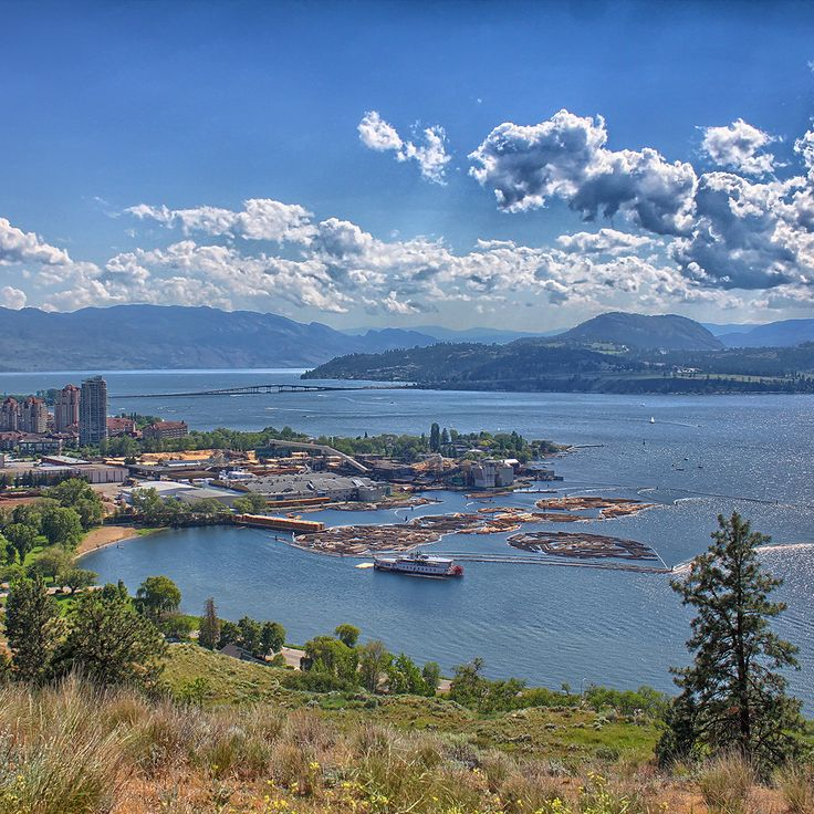 Knox Mountain Park is a natural park and recreational area located in Kelowna, BC, Canada