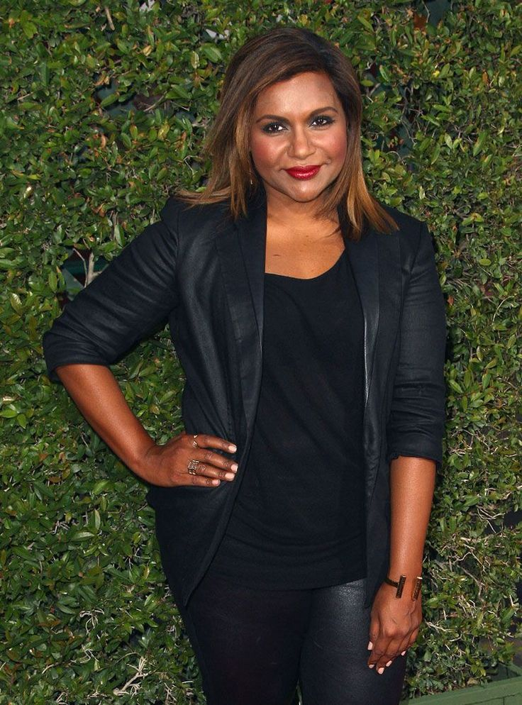 30+ Outfits That Prove Mindy Kaling Can Pull Off Anything+#refinery29