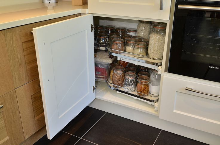 Oak & Painted Combination Kitchen (2)