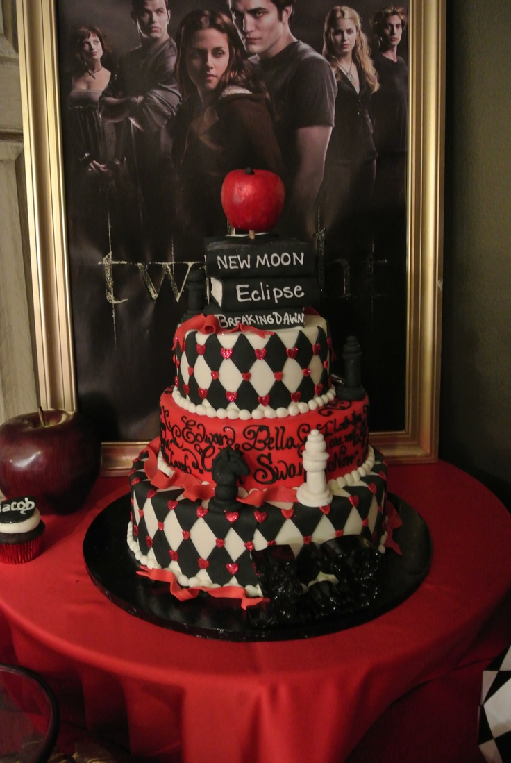 25 best ideas about twilight cake on pinterest twilight