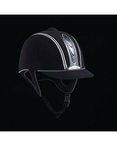 Legend Crystal Plus PAS015 Riding Hat in Black
