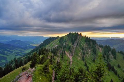 Vom Hochgrat über sechs Gipfel