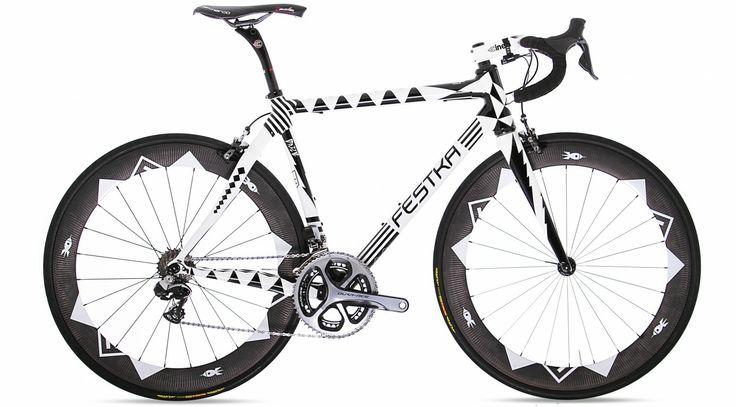 @Festka Zero Carbon. Custom carbon lugged frame. Amazing design! #art