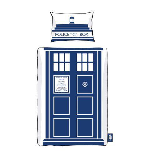 Doctor Who Tardis Single Duvet Set from BBC Worldwide