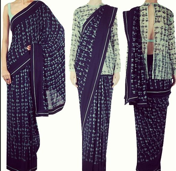 Keep it traditional or go quirky with Ilk by Shikha & Vinita. Check out their new collection that redefines preppy at #perniaspopupshop #designer #preppy #traditional #sari #prints #shopnow #love #happyshopping