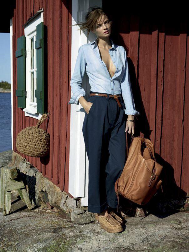 styling Vogue Brazil October 2014 Moa