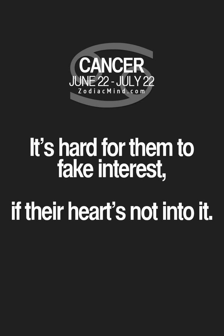 """Fun facts about your sign here:  """"It's hard for them to fake interest, if their heart's not in it!""""  <For the life of me...say this again>"""