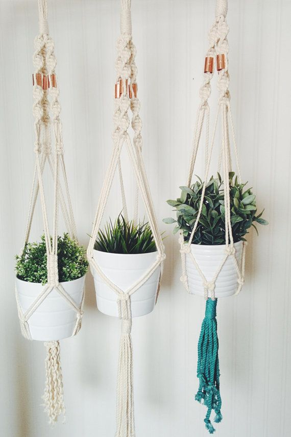 5 minute macrame plant hanger 52 best macrame plant hangers images on 6107
