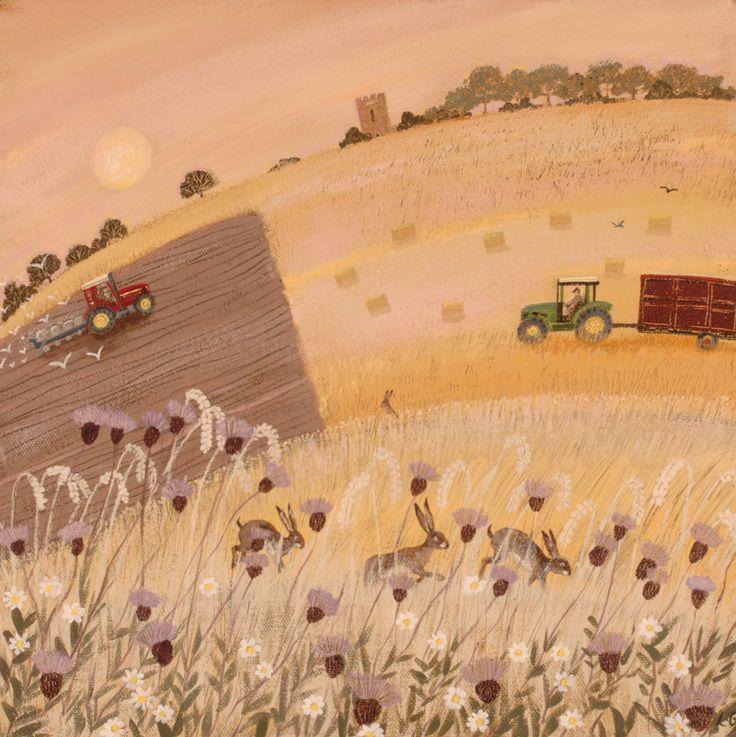 Evening harvest- Lucy Grossmith