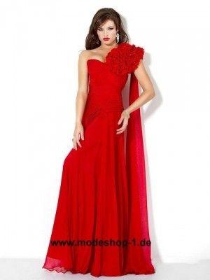Online Abendkleid Günstig in Rot