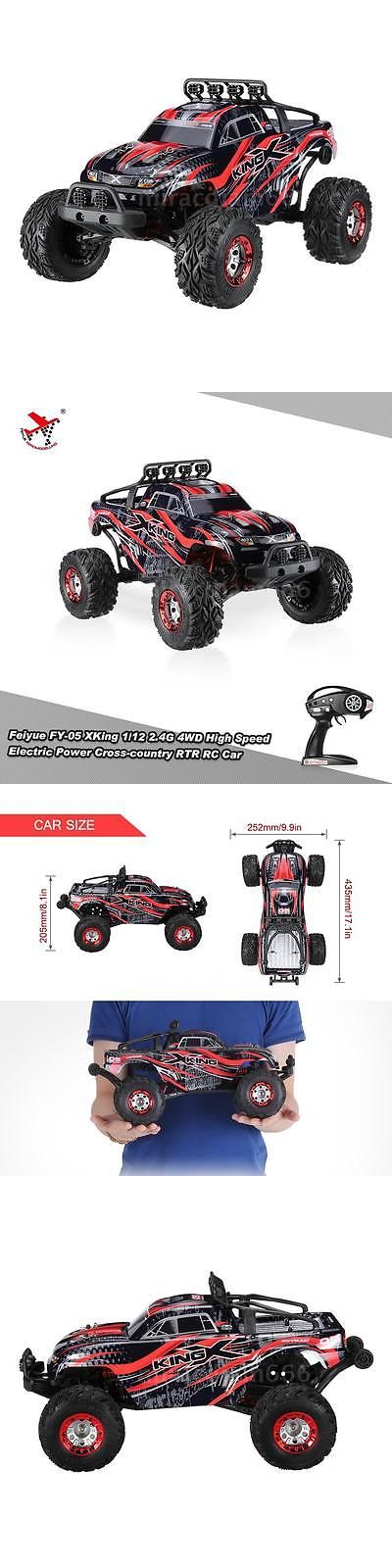 Radio Control 51029: Feiyue Fy-05 Xking 1 12 2.4G 4Wd Cross-Country Rtr Rc Car Off-Road Red Sale R1q1 -> BUY IT NOW ONLY: $51.36 on eBay!
